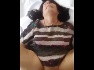 Stepson fucked his real mom