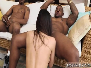 Arab college and king My Big Black Threesome